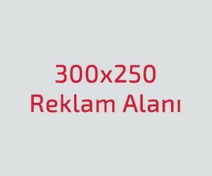 300x250 Reklam Alani
